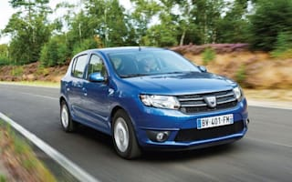 Cheap as chips: Dacia's Sandero costs from £5,995