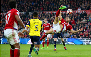 Middlesbrough 3 Oxford United 2: Stuani rescues Boro after minute of mayhem