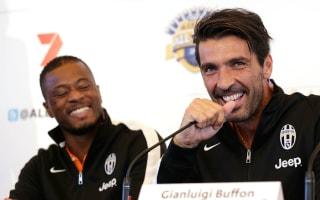Evra wants Champions League win for Buffon