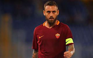 De Rossi: No contract talks with Roma