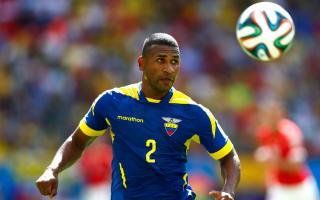 Guagua cut from Ecuador's Copa squad