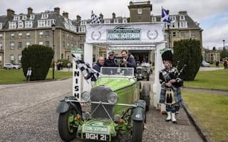 Vintage Talbot Alpine finishes first in classic rally