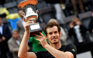Champion Murray moves above Federer