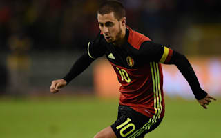 Belgium v Spain: Hazard a doubt for world's number one team