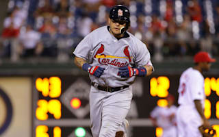 Cardinals score seven runs in 11th to topple Phillies