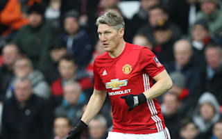 Schweinsteiger makes first United start for 386 days