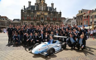 Dutch students break electric vehicle acceleration record