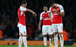 Ozil, Koscielny and Giroud out of Arsenal's Premier League opener