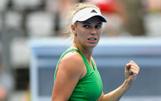 Wozniacki outlasts Puig in Sydney, Bertens eases through in Hobart