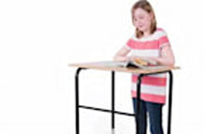You Children Could Grow Up With Standing Desks at School