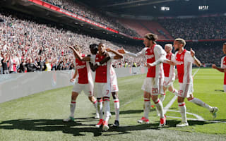 Ajax 2 Feyenoord 1: Schone and Neres revive Eredivisie title race