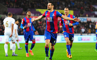Swansea City 1 Crystal Palace 1: Dann equaliser halts Eagles' slide