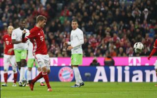 Bayern Munich 5 Wolfsburg 0: Muller breaks duck as hosts go top