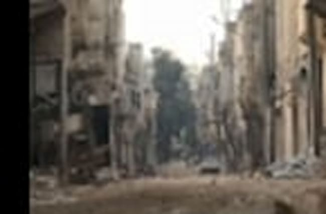 Raw: Syrian Military Attacks Eastern Aleppo