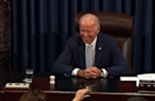 Senate Pays Tribute to Vice President Biden