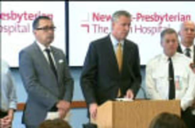 "NY blast kills firefighter, investigating reports of ""drug lab"""