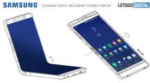 Así podría ser el teléfono plegable de Samsung: El Galaxy X