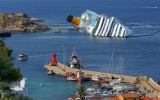 British diver arrested 'souvenir hunting' on Costa Concordia wreck