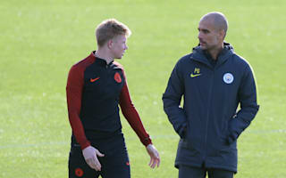 Guardiola always wants to evolve - De Bruyne