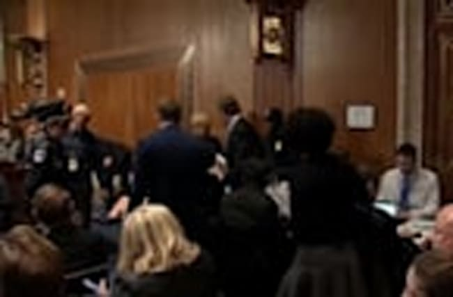 EPA critic Pruitt answers to Senate panel