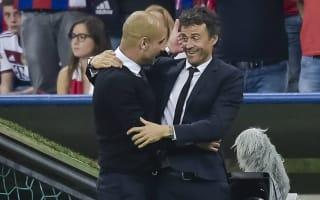 Luis Enrique: Guardiola one of the best coaches ever
