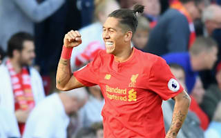 Firmino returns to Liverpool training ahead of Derby trip