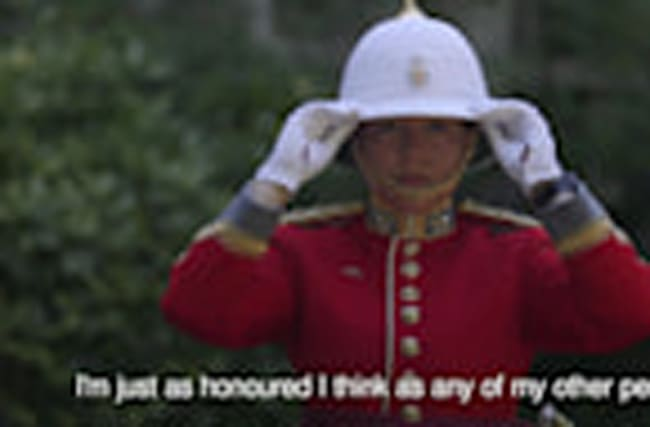 First woman commands Queen's Guard