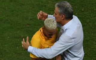Tite urges maturity from impressive Neymar