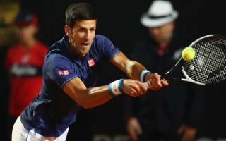 Downpour halts Djokovic-Del Potro quarter-final