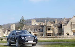 Bentley fleet transports guests around Cheltenham Festival