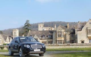 Bentley fleet transports guests around Cheltenham Festival