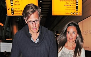 Pippa Middleton and boyfriend show off tans on return from holiday in India