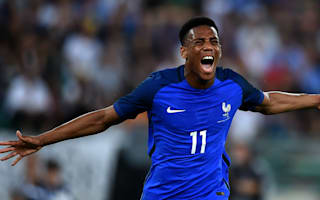 Disappointing Euros a lesson for Martial, says Deschamps
