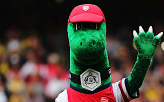 Let them express their talent - Wenger pokes fun at mascot debate