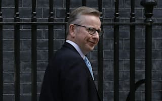 Michael Gove 'left son at hotel to attend literary festival party'