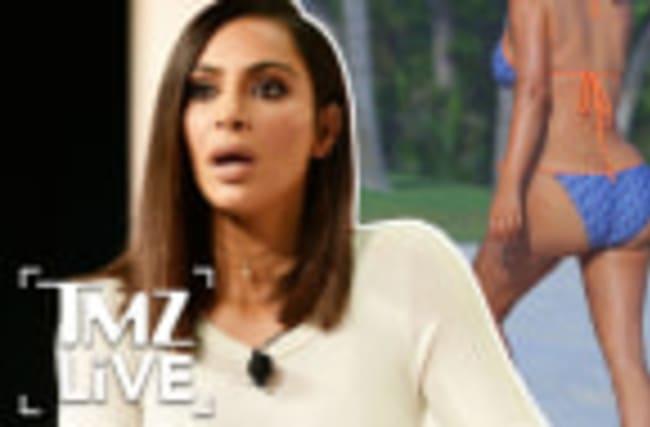 Kim Kardashian: Butt Shamed?! I TMZ LIVE