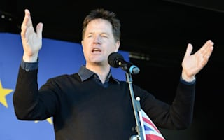Nick Clegg: Centrists must unite to fight May government