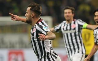 Eintracht Frankfurt 2 Borussia Dortmund 1: Substitute Seferovic stuns Tuchel's men