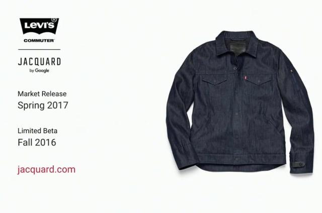 La ropa del futuro de Google y Levis está a punto de llegar