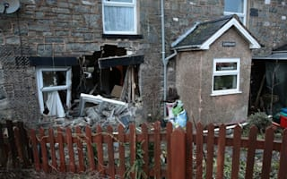 Out-of-control car smashes into pensioner's living room