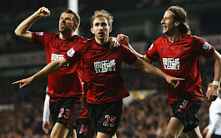 Tottenham 1 West Brom 1: Dawson scores at both ends as Leicester edge closer to the title