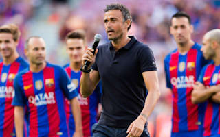 Barcelona are the team to beat this season - Luis Enrique