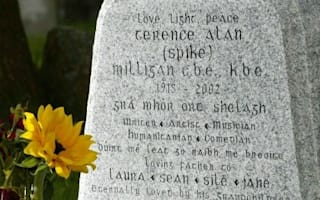 'I told you I was ill' named Britain's favourite epitaph