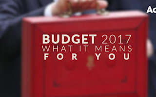 Budget 2017: What it means for you