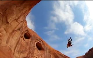 Video of the day: rope swinging in Utah