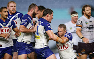 Bulldogs beat Broncos to ease pressure on Hasler