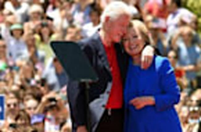 Hillary and Bill Clinton's Sweetest Moments