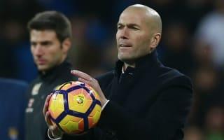 It's a marathon, not a sprint - Zidane positive after Madrid lose top spot to Barca
