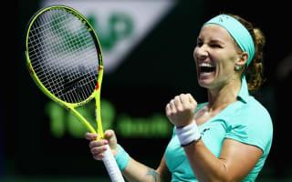 Kuznetsova revels in new-found fear factor