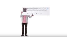 La última campaña publicitaria de Apple se dedica a contestar los tweets de la gente